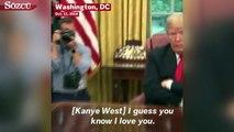 Kanye West ile Trump bir araya geldi, ortaya ilginç görüntüler çıktı!