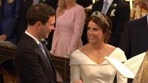 Princess Eugenie marries in grand UK royal wedding