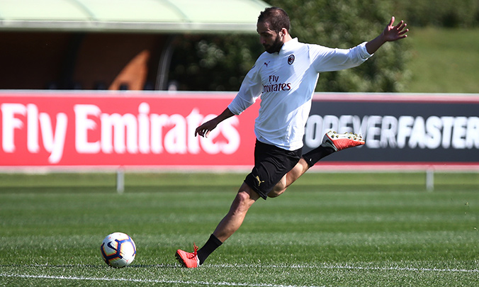 Milanello: technical training