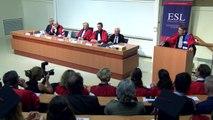 Rentrée solennelle 2018 de la European School of Law, Ecole Européenne de Droit (ESL-EED) - Discours