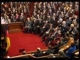 Séance commune de l'Assemblée nationale et du Bundestag allemand au château de Versailles à l'occasion du 40ème anniversaire du traité Franco-Allemand - Mercredi 22 janvier 2003