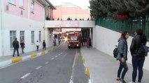 Bağcılar Eğitim ve Araştırma Hastanesi'nde Yangın