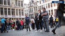 Jacques Brel et à Maurane mis à l'honneur sur la Grand Place