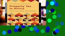 Best product  Property Tax in Africa: Status, Challenges, and Prospects