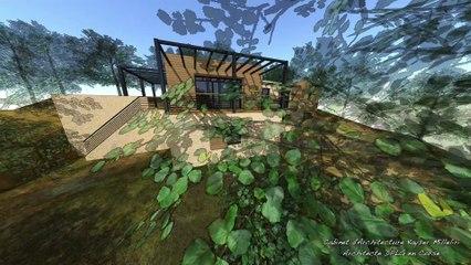 Architecture & Architecte DPLG en Corse : maison BBC Ecologique & contemporaine