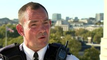 Police officer who witnessed PC Palmer stabbing
