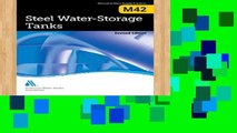 Review  M42 Steel Water Storage Tanks, Revised Edition (Manuals of Water Supply Practices)