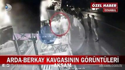 Arda Turan-Berkay Şahin kavgasının görüntüleri ortaya çıktı