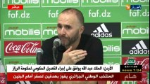 Belmadi : « On a pas qu'un seul capitaine en EN »