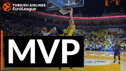 Round 1 MVP: Jan Vesely, Fenerbahce Istanbul