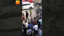 गुरुग्राम : दिनदहाड़े जज (एडीजे) की पत्नी और उनके बेटे को गोली मारने के बाद आरोपी युवक बेटे को गाड़ी में रखने की कोशिश करता