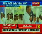 Amid Rafale Controversy, Congress President Rahul Gandhi addresses HAL Employees in Bengaluru