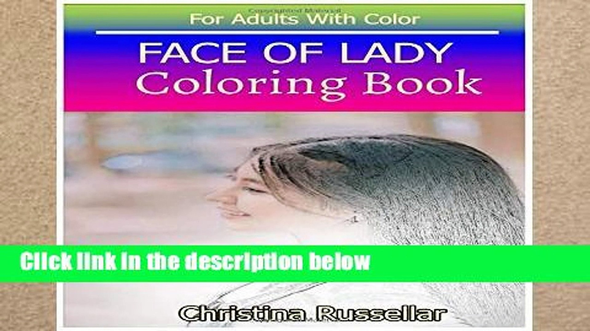 [P.D.F] FACE OF LADY Coloring Book For Adults With Color: FACE OF LADY  sketch coloring book 80