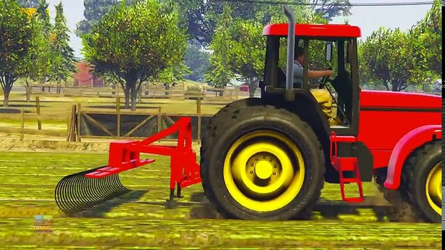Tv cartoons movies 2019 Tractor Videos For Children   Learning Street Vehicles Videos   Vehicle Cartoons by Kids Channel