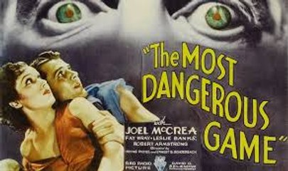 King Kong leads Fay Wray The Most Dangerous Game (1932)The film was shot at night on the King Kong jungle sets.
