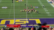 No. 13 LSU Upsets No. 2 Georgia
