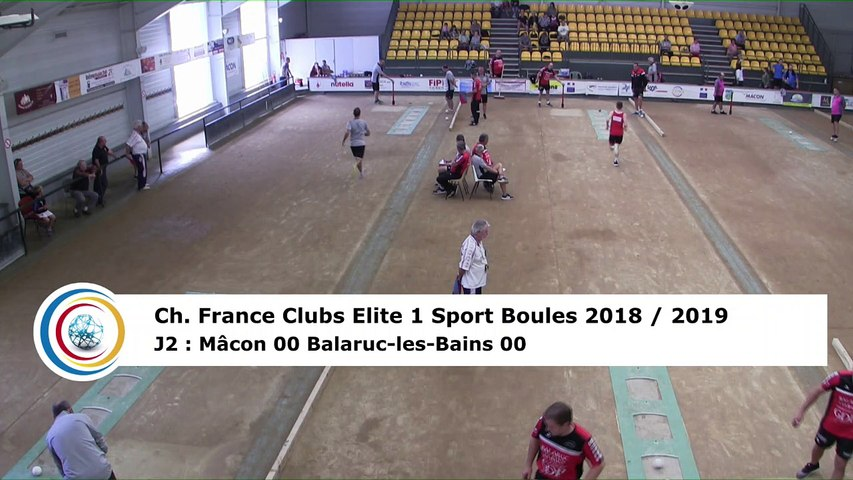 Premier tour, tir progressif, France Club Elite 1, J2, Mâcon contre Balaruc-les-Bains,  saison 2018/2019