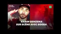 Booba a invité Karim Benzema et d'autres amis pour mettre le feu à son concert à la Défense Arena