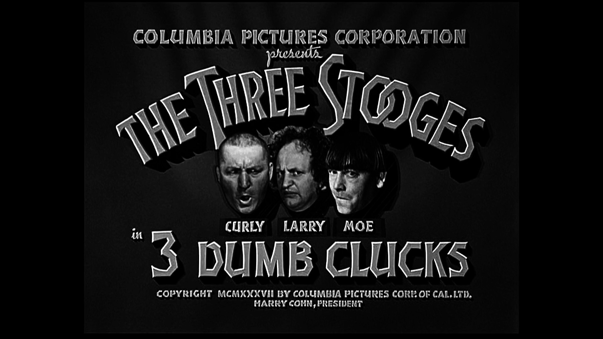 Image result for The Three Stooges: 3 Dumb Clucks (1937)