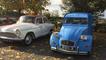 Randonnée et exposition de véhicules anciens