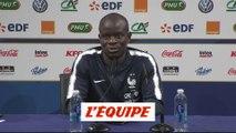 Kanté s'exprime sur le Ballon d'Or - Foot - Ligue des Nations - Bleus