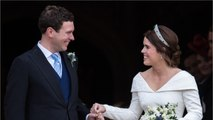 Princess Eugenie Breaks Royal Tradition With Wedding Reception Dress