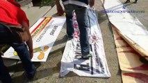 La resistencia grita «viva España» en la tumba del asesino violador Lluís Companys