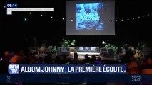 """Album de Johnny: une fan présente à la première écoute confie """"c'est un magnifique cadeau qu'il nous a fait"""""""