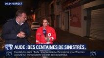 """Inondations dans l'Aude: la Croix rouge a """"besoin d'eau, de nourriture et de vêtements"""""""