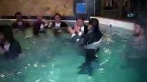haymana belediye başkanının havuzlu çiğ köfte partisi
