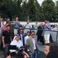 دردشة مع سمو أمير قطر الشيخ تميم بن حمد آل ثاني A chat with his highness the Amir of Qatar Sheikh Tamim Bin Hamad Al Thani  #worldcup #موسكو #روسيا #قطر ##qatar