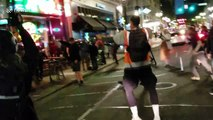 Massive brawl breaks out between left and right wing protesters in Portland, Oregon