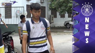 CLB Ha Noi chiem uu the trong danh sach tap trung