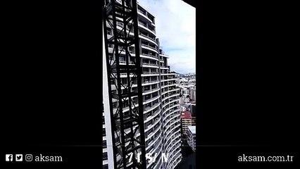 'Selfie' için çıktığı 27'nci kattan aşağı düştü