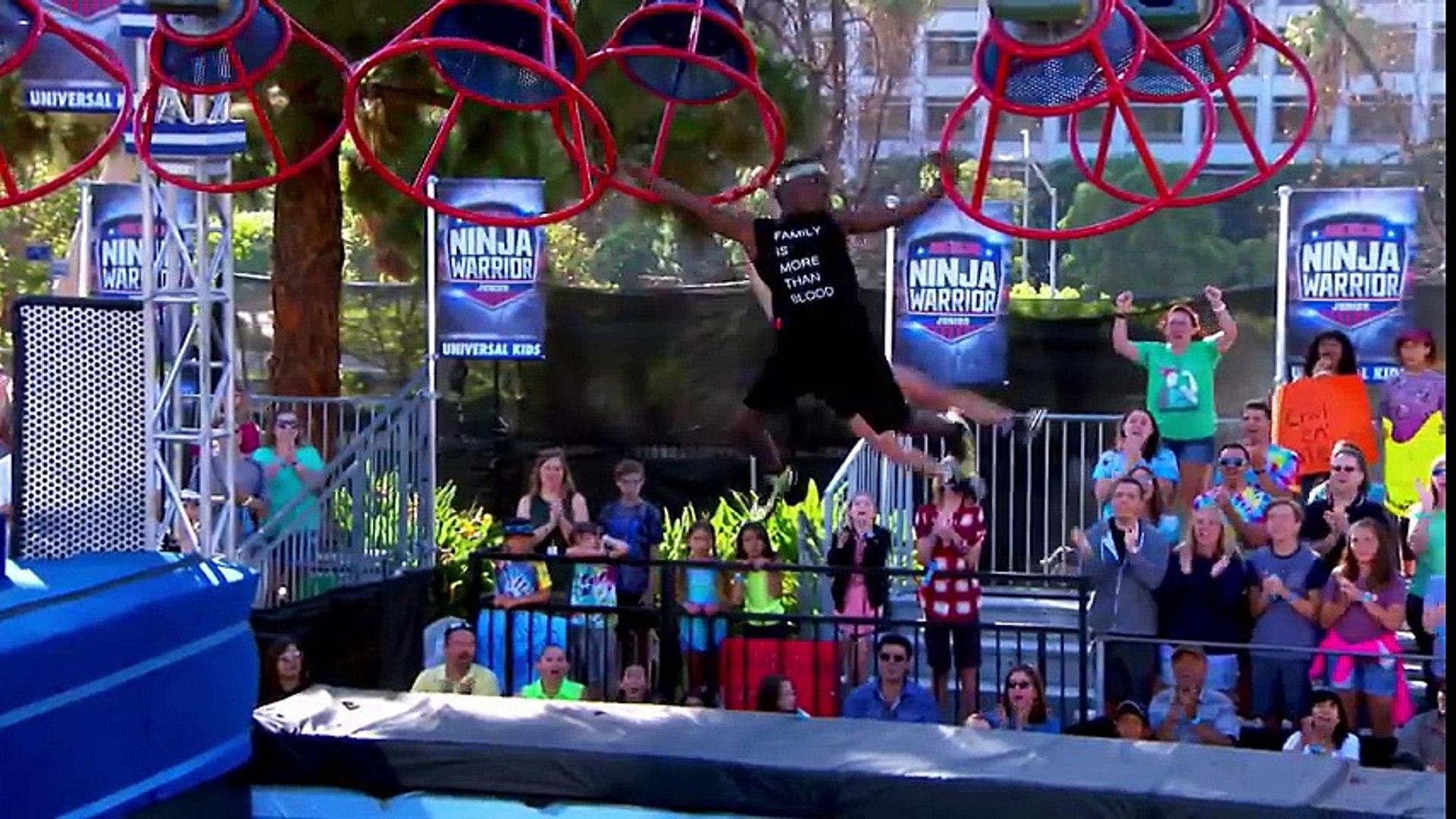 FULL E: American Ninja Warrior Junior EP 1 - The Next Generation of Ninjas  | Universal Kids