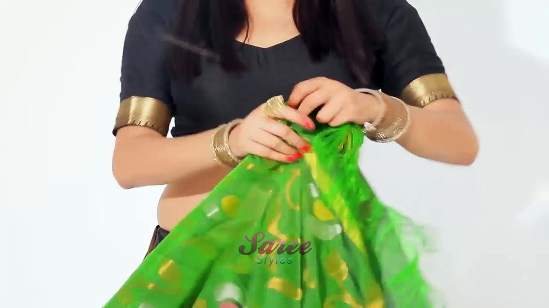 Simple n Easy Tips n Tricks How To Wear Saree Beautifully Perfectly n Properly