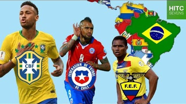 Best Footballer From EVERY Country in South America