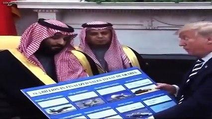 Trump just literally put a price tag on Jamal Khashoggi's