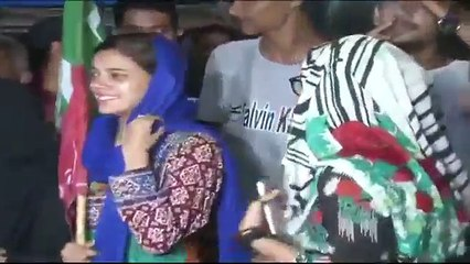 PTI Workers Celebration After Wining By Election in Karachi