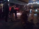 Dérapage au Parc Astérix !  Un visiteur frappe un acteur de Peur sur le Parc