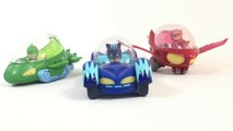 PJ Masks Deluxe Vehicles Catboy Cat-Car Gekko Mobile Owlette Owl Glider || Keith's Toy Box