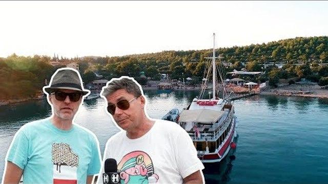 Hospitality On The Beach - Site Tour with London Elektricity & Chris Goss
