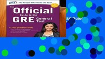 D.O.W.N.L.O.A.D [P.D.F] The Official Guide to the GRE General Test, Third Edition
