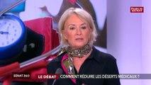 """Désert médicaux: La sénatrice Elisabeth Doineau veut proscrire le terme  """"désertification"""""""