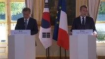 """Inondations dans l'Aude: Emmanuel Macron a exprimé """"l'émotion et la solidarité de toute la nation"""""""