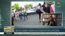 6 mujeres heridas tras 33º Encuentro Nacional de Mujeres