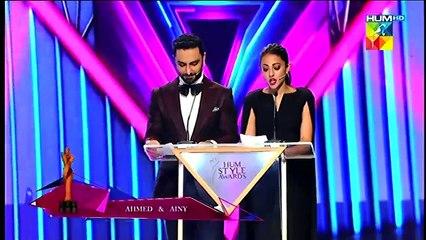 Feroze and Alizey hum awards