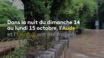 """""""Il s'est mis à pleuvoir très, très fort"""" : un habitant raconte le déluge dans l'Hérault"""