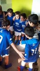 Joie d'après match de nos U13-1