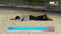 Migrant échoué au Groland